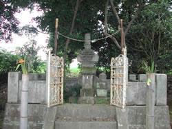 伝 関宗祐墓(宝篋印塔)