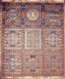 金剛界曼荼羅図