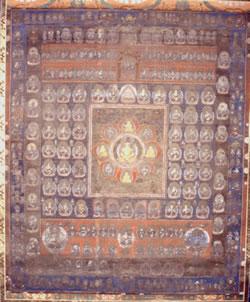 胎蔵界曼荼羅図