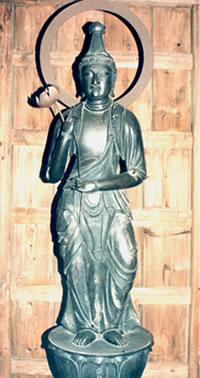 聖観世音菩薩立像(しょうかんぜおんぼさつりゅうぞう)