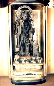 木造鬼子母神立像(もくぞうきしぼじんりゅうぞう)