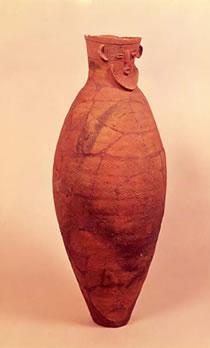 人面付壺形土器(じんめんつきつぼがたどき)